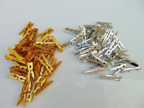 Mollettine x 36 Metallizzate Oro e Argento - Sconti per Fioristi e Aziende