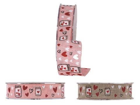 Nastro Jars and Arrows H 25 Articolo per San Valentino - Sconti per Fioristi e Aziende