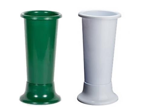 Portafiori Ideal H 45 dm. 18 bianco o verde - Sconti per Fioristi e Aziende