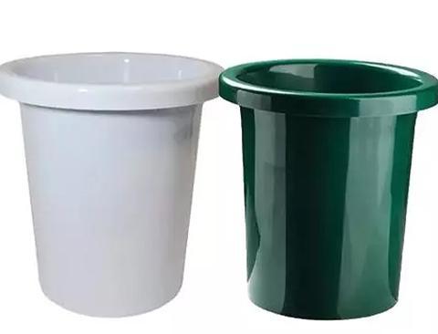 Mastello Portafiori H 36 dm. 36  bianco o verde Sconti per Fioristi e Aziende