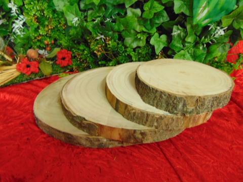 Base tronco naturale H 3 diametri diversi - Sconti per Fioristi e Aziende