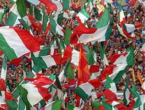 Bandiera italiana H 150 venduta al metro - Sconti per Fioristi e Aziende