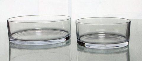 Ciotola in vetro trasparente  dm. 18 Julian