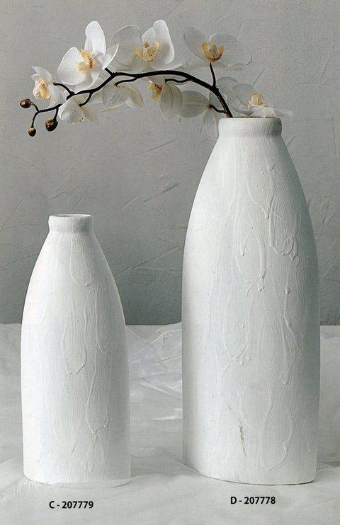 Vaso Ceramica H 30 e H 40 2 misure Effetto goccia
