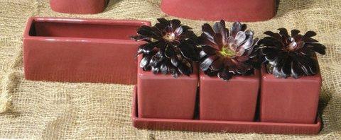 Cubetti x 3  su vassoio per fioristi, wedding e Arredatori