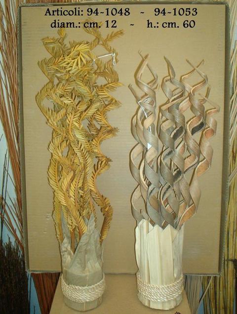 Fascine fern  composto con foglie di cicas