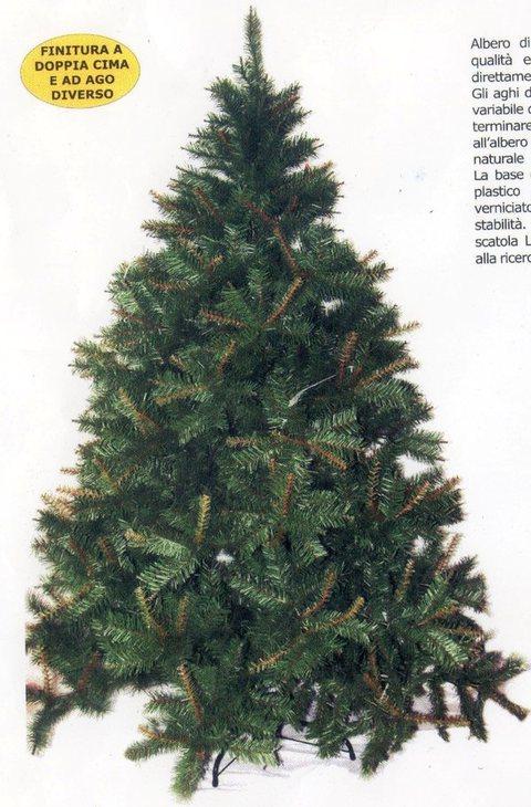 Albero di Natale H 210 Ecologico - Artificiale Nature