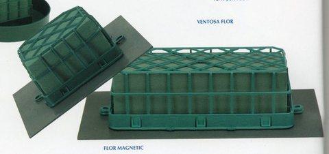 Gabbietta Magnetica cm. 25 con spugna e Magnete cm.36x18 - Sconti per Fioristi e Aziende