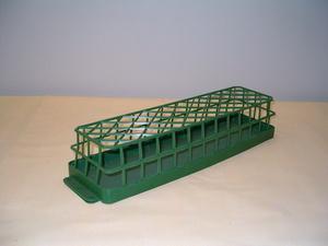 Gabbietta portaspugna cm. 50 x 10 H 8 senza spugna  in plastica