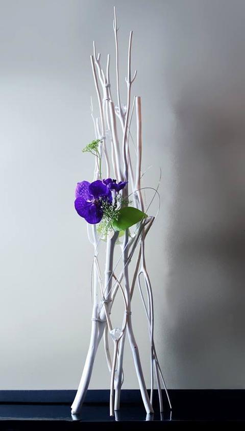 Mitzumata Naturale Sbiancata  H 120  Sconti per Fioristi e Aziende