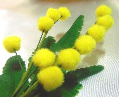 Mimosa Artificiale Pick in ciniglia - Sconti per Fioristi e Aziende