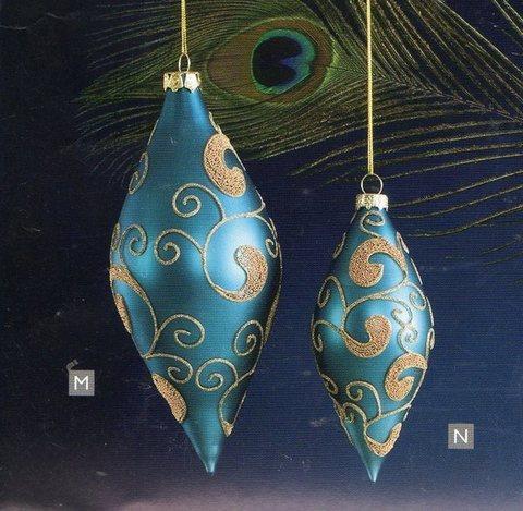 Goccia in vetro x 4 in 2 colori - Sconti per Fioristi e Aziende