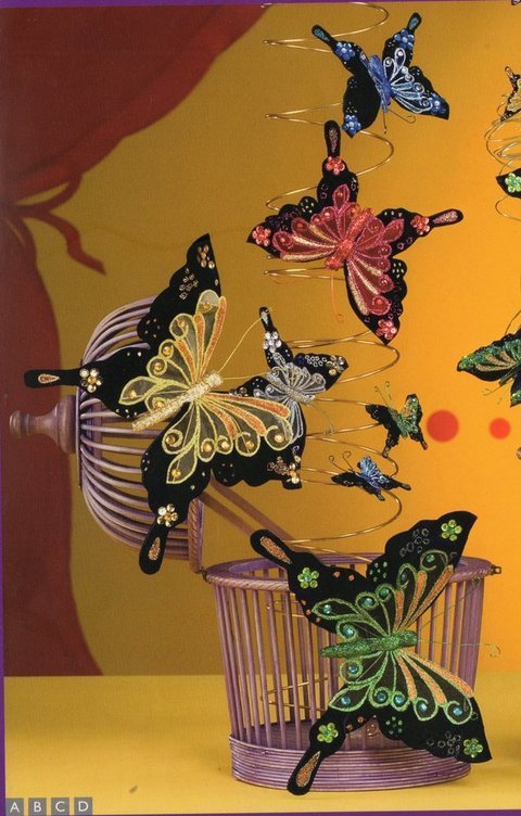 Farfalla  Moulin Rouge cm. 12 x 10