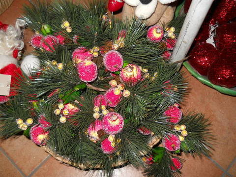 Pick frutta zuccherata  melograno e pera per fioristi, wedding e Arredatori
