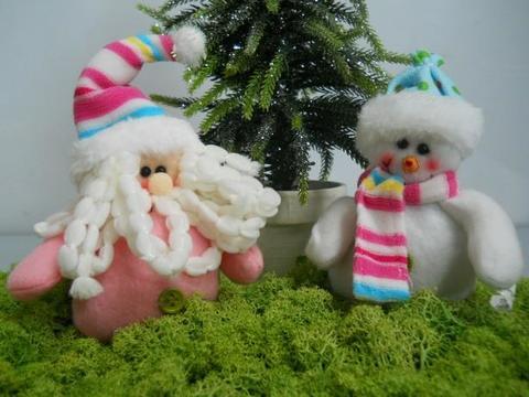 Babbo Natale & Pupazzo H 14 Sweet Candy - Sconti per Fioristi e Aziende