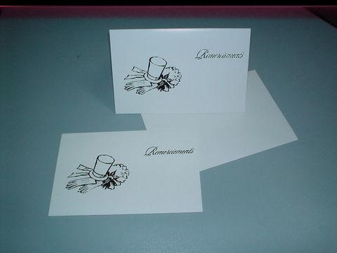 Biglietti invito Matrimonio x 10  Stampato con busta - Sconti per Fioristi e Aziende