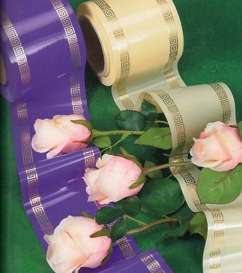 Nastro Funebre in plastica da mt. 100 H 10 e 14 Osiride per fioristi e arte funeraria