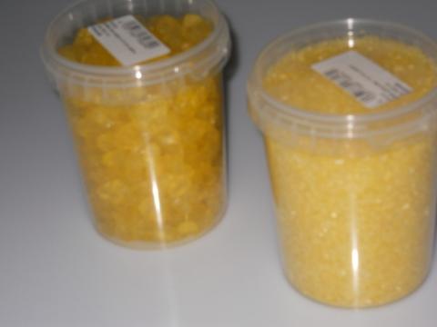 Giaccio Granulare - Giallo in vetro - Sconti per Fioristi e Aziende