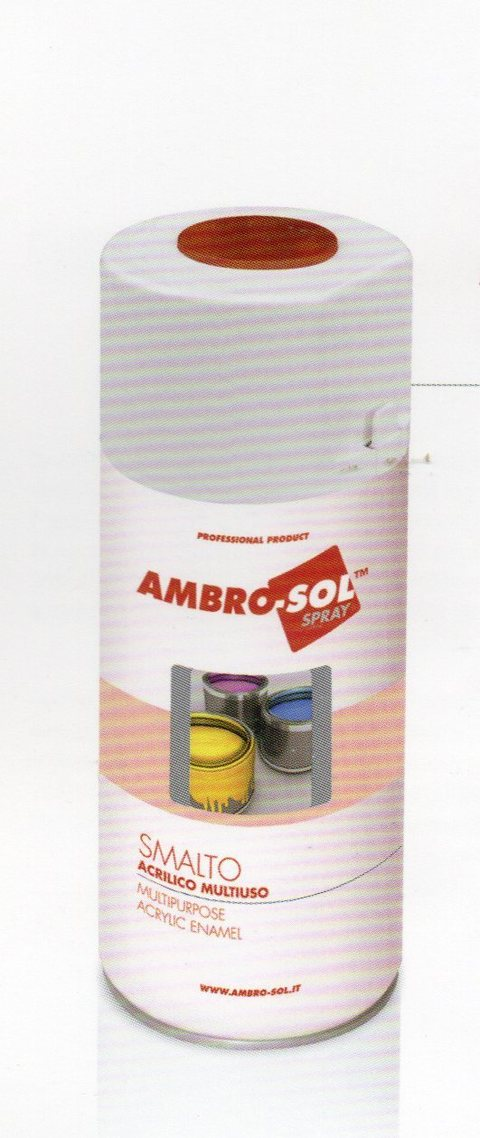 Smalto Spray ml. 400 a rapida essicazione  per fioristi, wedding e Arredatori