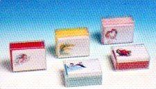 Biglietti stampati x 50  con buste colorate