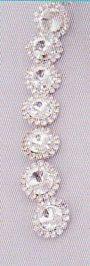 Diamantini tipo Swarovsky dm. 2  Bodina mt. 3