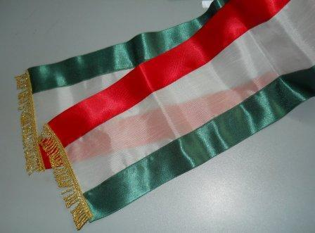 Fascia Tricolore in stoffa per Nozze civili - Sconti per Fioristi e Aziende