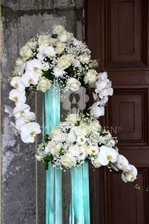 Nastro doppio raso color Tiffany mt. 50 altezze diverse - Sconti per Fioristi e Aziende