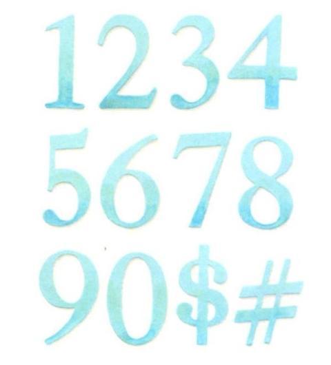 Fustelle Numeri H 5 Bigz