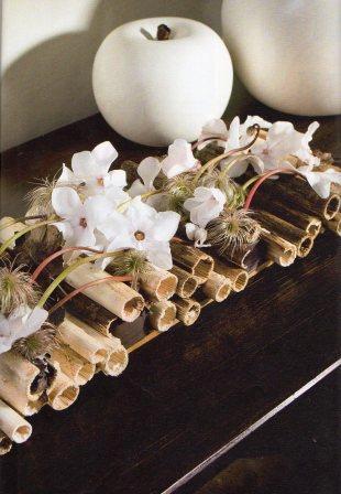 Canne Glitterate x 8 H 150  per fioristi, wedding e Arredatori