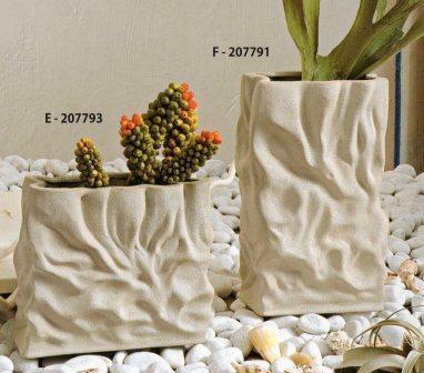 Vaso Rettangolare effetto pietra H 20 e H 30
