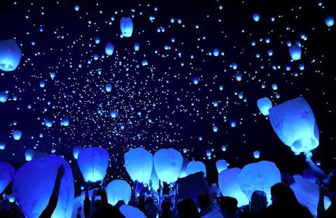 Lanterne Volanti per Matrimonio