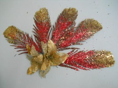 Foglie oro glitterate  in 3 modelli - Sconti per Fioristi e Aziende
