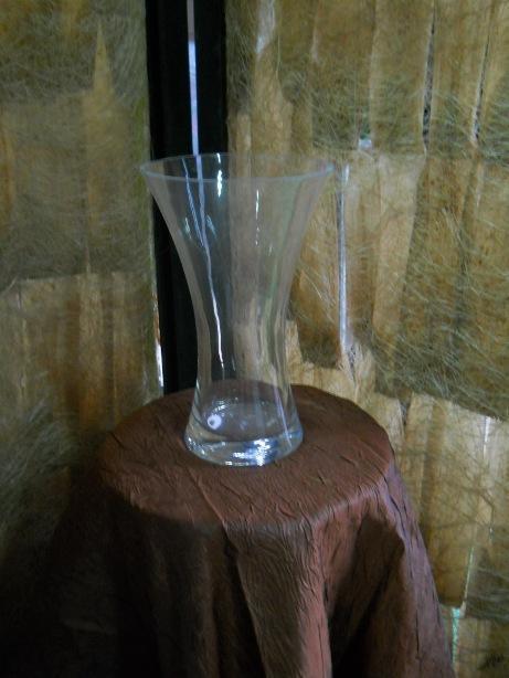 Vaso in vetro  H 24 -  Coppa Italia