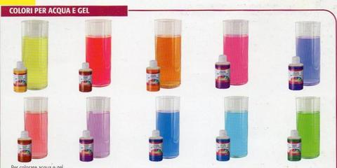Coloranti per liquidi flacone  250 ml.
