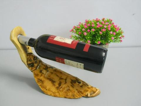 Portabottiglia con piede  in 2 modelli