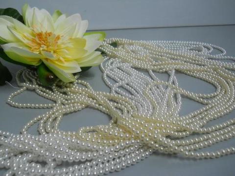 Collana di perle mm. 5   metri 1,5