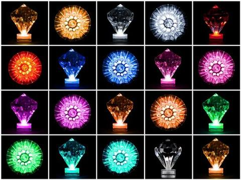 Led diamond waterproof