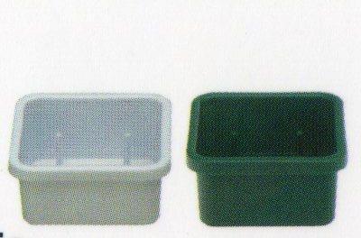 Ciotola quadra in Plastica cm. 7x7 - Conf. 45 pezzi  Classica