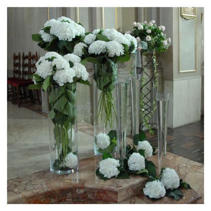 Cono in vetro H 50 dm. 17 Classico - Sconti per Fioristi e Aziende e Wedding