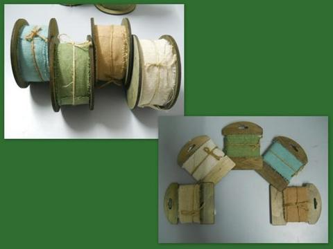 Nastro di Lino mm. 40 in 2 modelli - Sconti per Fioristi e Aziende