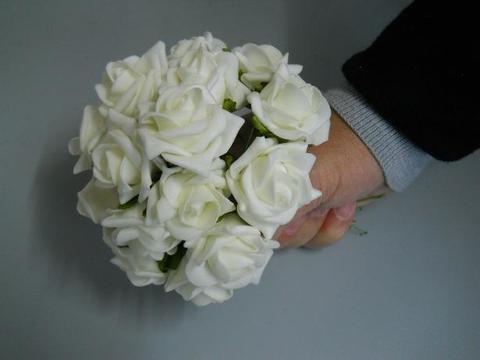 Roselline polifoam Ø 4 cm. conf. x 6 per fioristi e wedding