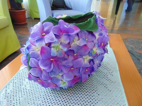 Vaso ovale hydrangea