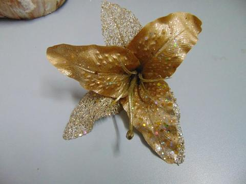 Giglio oro  H 20 con Clip