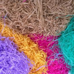 Truciol0 / Paglietta carta colorata  sacco Kg.5 - Sconti per Fioristi e Aziende
