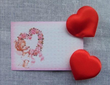Cuori in raso rosso mm. 20 Conf. 30 pezzi Articolo per San Valentino - Sconti per Fioristi e Aziende