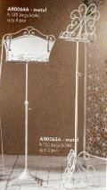 Leggio in ferro batturo regolabili in altezza H 150 e H 125 - Sconti per Fioristi e Aziende