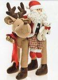 Babbo Natale  su Renna H 45