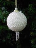 Palline   con perle cm. 9