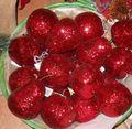 Frutta x 8 Glitterata  Rossa 4 modelli