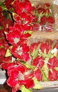Magnolietta Rossa in velluto